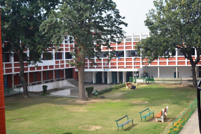 Main hostel campus